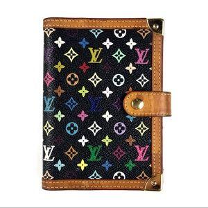Louis Vuitton Multicolor Monogram Agenda Wallet